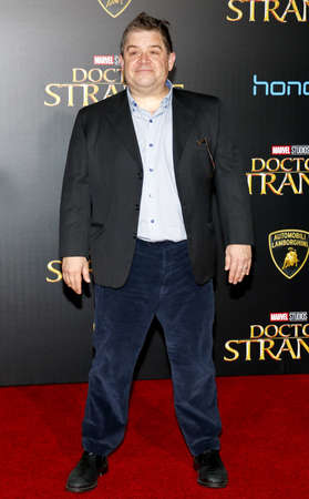 patton: Patton Oswalt at the World premiere of Doctor Strange held at the El Capitan Theatre in Hollywood, USA on October 20, 2016. Editorial