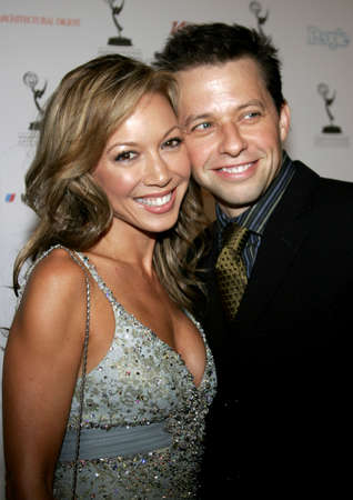 Jon Cryer and Lisa Joyner at the 58th Annual Primetime Emmy Awards Performer Nominee Reception held at the Pacific Design Center in West Hollywood, California, United States on August 25, 2006. Editorial