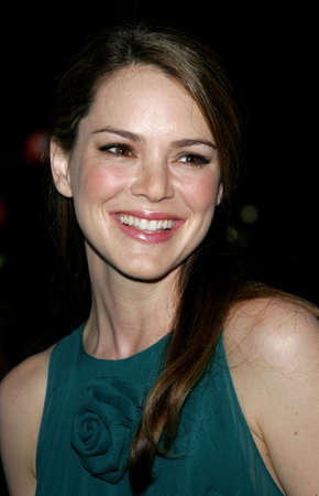 Jacinda Barrett at the Los Angeles premiere of The Last Kiss held at the Directors Guild of America in Hollywood, USA on September 13, 2006.