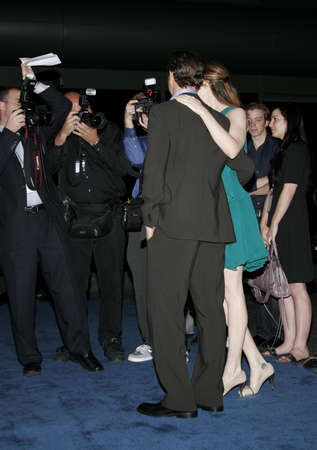 barrett: Jacinda Barrett and Tony Goldwyn at the Los Angeles premiere of The Last Kiss held at the Directors Guild of America in Hollywood, USA on September 13, 2006. Editorial
