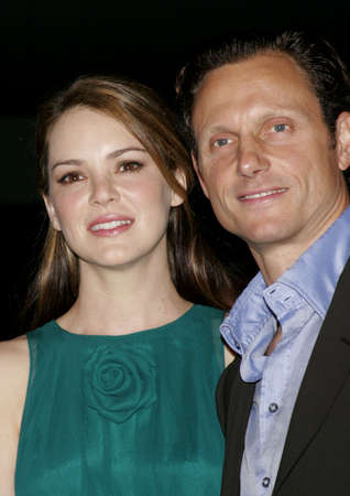 Jacinda Barrett and Tony Goldwyn at the Los Angeles premiere of The Last Kiss held at the Directors Guild of America in Hollywood, USA on September 13, 2006. Sajtókép