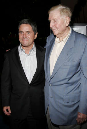 redstone: Brad Grey and Sumner Redstone at the Los Angeles premiere of The Last Kiss held at the Directors Guild of America in Hollywood, USA on September 13, 2006.