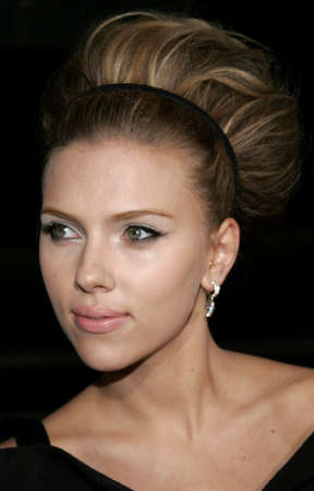 Scarlett Johansson at the Los Angeles premiere of 'The Black Dahlia' held at the Academy of Motion Picture Arts and Sciences in Beverly Hills, USA on September 6, 2006. Redactioneel