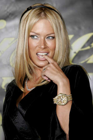 Jenna Jameson at the Lingerie Bowl IV Kick-Off Party held at the Les Deux in Hollywood, USA on September 7, 2006.