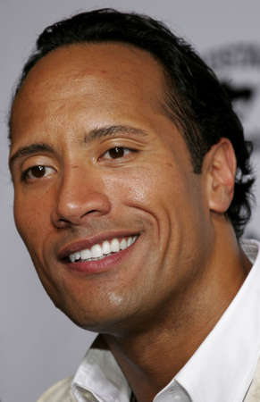 Dwayne The Rock Johnson at the Los Angeles premiere of Gridiron Gang held at the Graumans Chinese Theatre in Hollywood, USA on September 5, 2006.