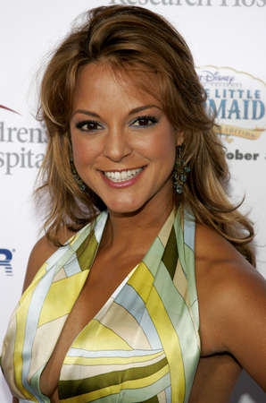 Eva LaRue at the Runway For Life Benefiting St. Jude Childrens Research Hospital held at the  Beverly Hilton in Beverly Hills, USA on September 15, 2006. Editorial