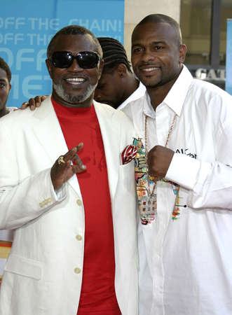 Roy Jones at the 2005 BET Awards at the Kodak Theater in Hollywood, USA on June 28, 2005. Editorial
