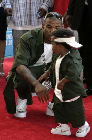 The Game at the 2005 BET Awards at the Kodak Theater in Hollywood, USA on June 28, 2005.