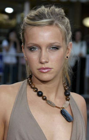 Katie Cassidy at the Los Angeles premiere of Red Eye held at the Mann Bruin in Westwood, USA on August 4, 2005.