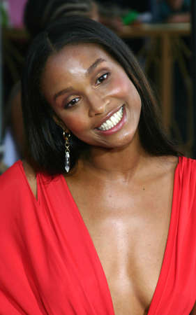 Joy Bryant at the Los Angeles premiere of The Skeleton Key held at the Universal Studios Cinema in Hollywood, USA on August 2, 2005.