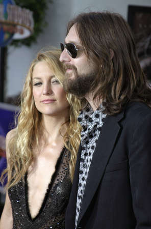 Kate Hudson and Chris Robinson at the Los Angeles premiere of The Skeleton Key held at the Universal Studios Cinema in Hollywood, USA on August 2, 2005. Editorial
