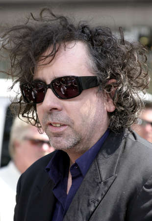 Tim Burton at the Los Angeles premiere of Charlie and the Chocolate Factory held at the Graumans Chinese Theatre in Hollywood, USA on July 10, 2005. Editorial