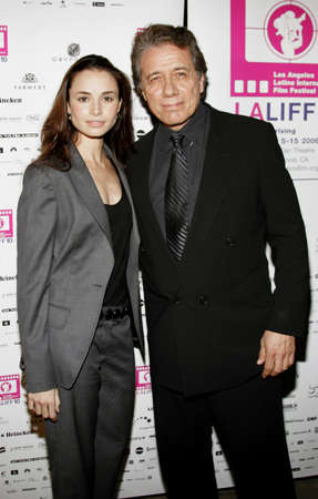 maestro: Mia Maestro and Edward James Olmos at the LALIFF Screening of Chagas: A Hidden Affliction held at the Egyptian Arena Theatre in Hollywood, USA on on October 7, 2006.