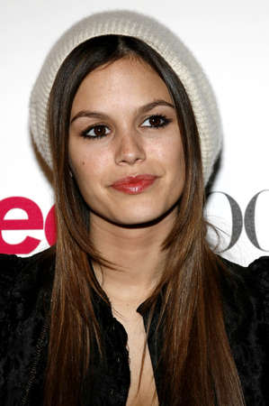 Rachel Bilson at the Teen Vogue Young Hollywood Issue Party held at the Sunset Tower in West Hollywood, USA on September 20, 2006. Editorial
