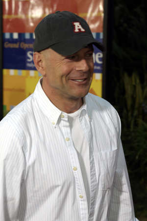 Bruce Willis at the World premiere of The Bourne Supremacy held at the ArcLight Cinema in Hollywood, USA on July 15, 2004.