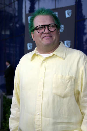 Drew Carey at the WB Networks 2004 All-Star Party held at the Pacific Design Center in West Hollywood, USA  on July 14, 2004.