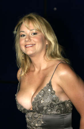 Megyn Price at the WB Networks 2004 All-Star Party held at the Pacific Design Center in West Hollywood, USA  on July 14, 2004. Editorial