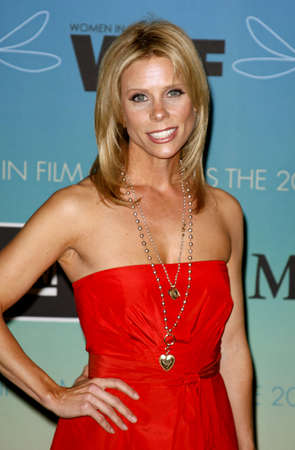 Cheryl Hines at the Women In Film Presents The 2007 Crystal and Lucy Awards held at the Beverly Hilton Hotel in Beverly Hills, California, USA on June 14, 2006.
