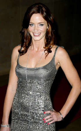 Emily Blunt at the Women In Film Presents The 2007 Crystal and Lucy Awards held at the Beverly Hilton Hotel in Beverly Hills, California, USA on June 14, 2006.