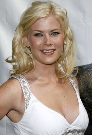 Alison Sweeney at the World premiere of Evan Almighty held at the Universal Citywalk in Hollywood, USA on June 10, 2007.