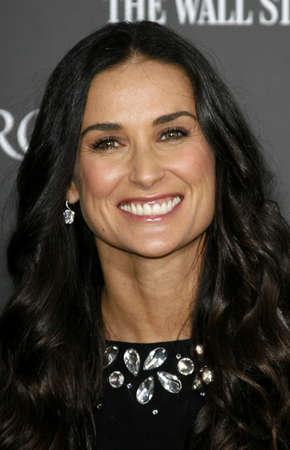 Demi Moore at the Los Angeles premiere of