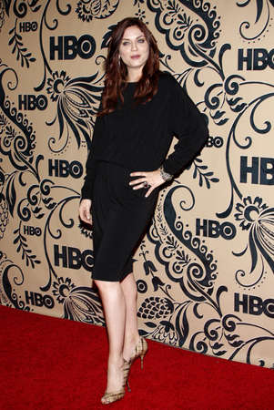 lyn: Jodi Lyn OKeefe at the HBO POST EMMY Party held at the Pacific Design Center in West Hollywood, USA on September 20, 2009.
