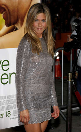 happens: Jennifer Aniston at the World premiere of Love Happens held at the Mann Village Theater in Westwood, USA on September 15, 2009. Editorial