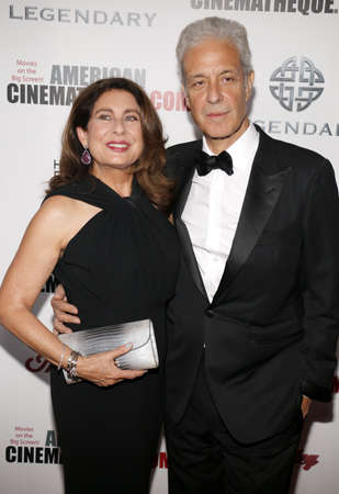 paula: Rick Nicita and Paula Wagner at the 30th Annual American Cinematheque Awards Gala held at the Beverly Hilton Hotel in Beverly Hills, USA on October 14, 2016. Editorial
