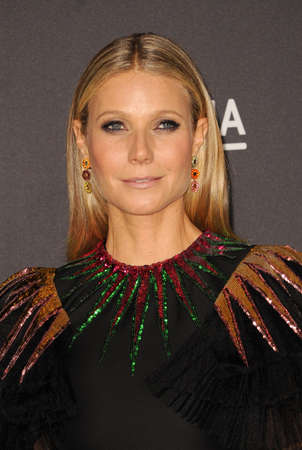 Gwyneth Paltrow at the 2016 LACMA Art+Film Gala held at the LACMA in Los Angeles, USA on October 29, 2016.