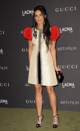 2016 LACMA アート + 映画祭りでデミ ・ ムーア LACMA ロサンゼルス、米国で 2016 年 10 月 29 日に開催。