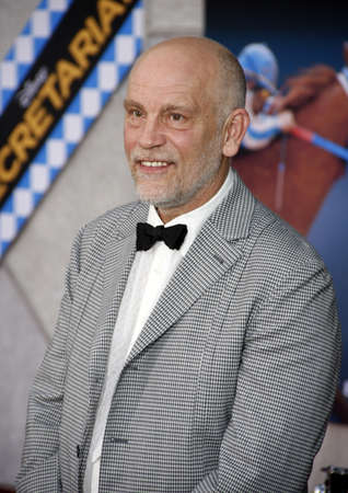 John Malkovich at the Los Angeles premiere of Secretariat held at the El Capitan Theater in Hollywood, USA on September 30, 2010. Редакционное