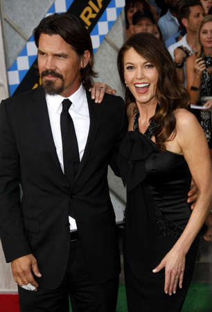 secretariat: Josh Brolin and Diane Lane at the Los Angeles premiere of Secretariat held at the El Capitan Theater in Hollywood, USA on September 30, 2010. Editorial