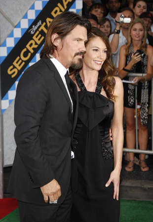 secretariat: Diane Lane and Josh Brolin at the Los Angeles premiere of Secretariat held at the El Capitan Theater in Hollywood, USA on September 30, 2010. Editorial