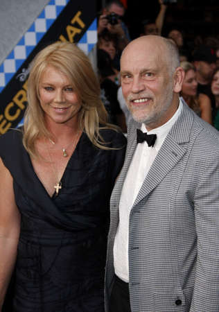 secretariat: John Malkovich and Peta Wilson at the Los Angeles premiere of Secretariat held at the El Capitan Theater in Hollywood, USA on September 30, 2010.