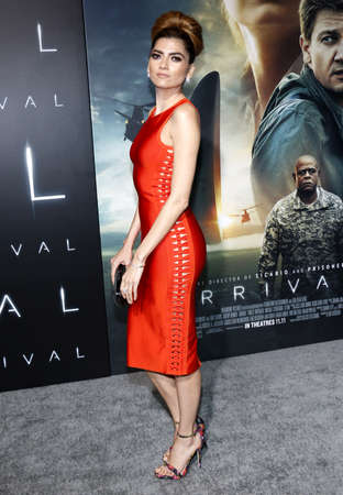 ufos: Blanca Blanco at the Los Angeles premiere of Arrival held at the Regency Village Theater in Westwood, USA on November 6, 2016.
