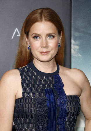 ufos: Amy Adams at the Los Angeles premiere of Arrival held at the Regency Village Theater in Westwood, USA on November 6, 2016.