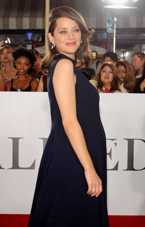 marion: Marion Cotillard at the Los Angeles premiere of 'Allied' held at the Regency Village Theatre in Westwood, USA on November 9, 2016.