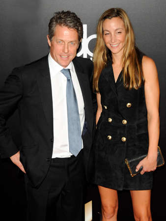 hugh: Hugh Grant and Anna Elisabet Eberstein at the 20th Annual Hollywood Film Awards held at the Beverly Hilton Hotel in Beverly Hills, USA on November 6, 2016.