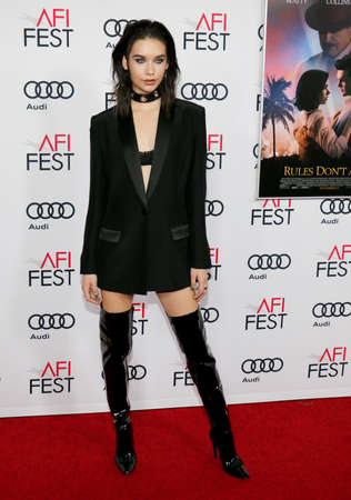 amanda: Amanda Steele at the AFI FEST 2016 Opening Night Premiere of Rules Dont Apply held at the TCL Chinese Theatre in Hollywood, USA on November 10, 2016.
