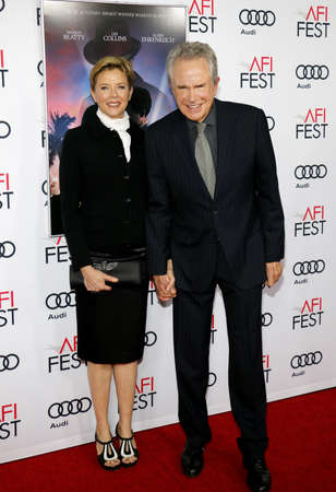 warren: Warren Beatty and Annette Bening at the AFI FEST 2016 Opening Night Premiere of Rules Dont Apply held at the TCL Chinese Theatre in Hollywood, USA on November 10, 2016.