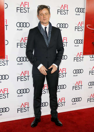 caspar: Caspar Phillipson at the AFI FEST 2016 Centerpiece Gala Screening of Jackie held at the TCL Chinese Theatre in Hollywood, USA on November 14, 2016.