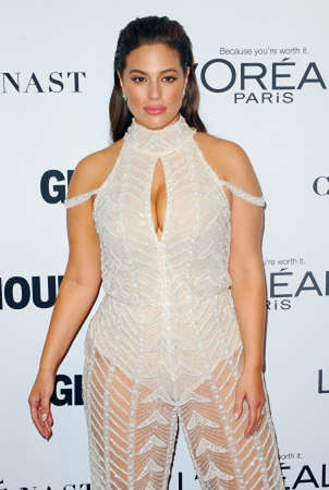 Ashley Graham at the Glamour Women Of The Year 2016 held at the NeueHouse in Hollywood, USA on November 14, 2016. 報道画像