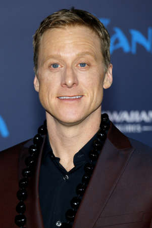 Alan Tudyk at the AFI FEST 2016 Premiere of Moana held at the El Capitan Theatre in Hollywood, USA on November 14, 2016.