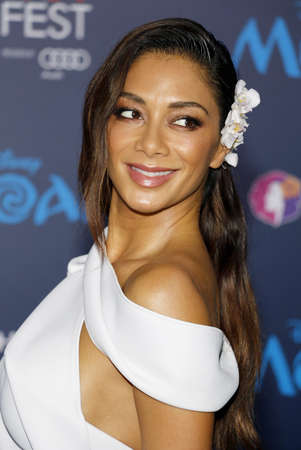 Nicole Scherzinger at the AFI FEST 2016 Premiere of Moana held at the El Capitan Theatre in Hollywood, USA on November 14, 2016. Editorial