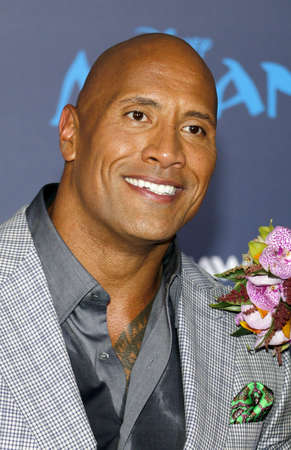 Dwayne Johnson at the AFI FEST 2016 Premiere of Moana held at the El Capitan Theatre in Hollywood, USA on November 14, 2016.