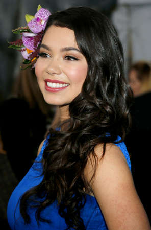 Auli'i Cravalho at the AFI FEST 2016 Premiere of Moana held at the El Capitan Theatre in Hollywood, USA on November 14, 2016.