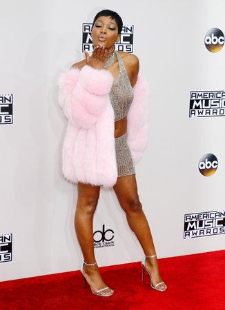 Keke Palmer at the 2016 American Music Awards held at the Microsoft Theater in Los Angeles, USA on November 20, 2016.