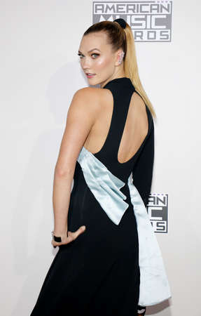 Karlie Kloss at the 2016 American Music Awards held at the Microsoft Theater in Los Angeles, USA on November 20, 2016. Editorial