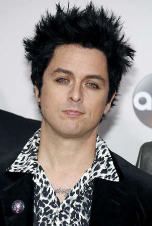 held: Billie Joe Armstrong of Green Day at the 2016 American Music Awards held at the Microsoft Theater in Los Angeles, USA on November 20, 2016.