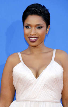 Jennifer Hudson at the Los Angeles premiere of Sing held at the Microsoft Theater in Los Angeles, USA on December 3, 2016.